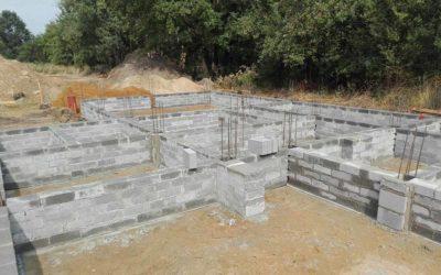 Rydułtowy – ściany fundamentowe