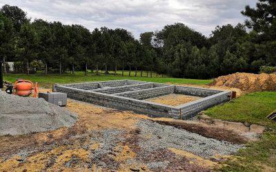 Kokoszyce – pierwszy etap budowy